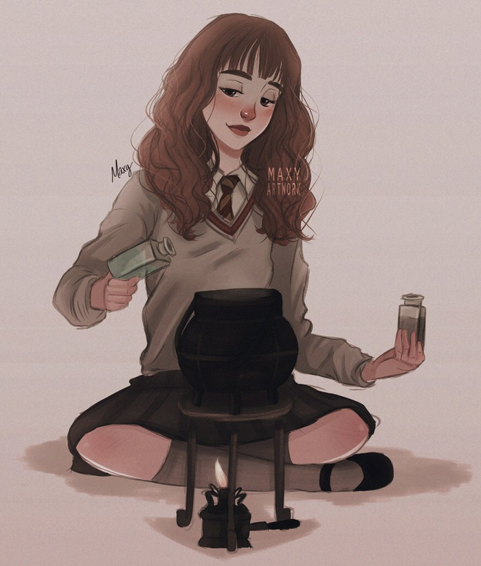 Невероятные и замечательные арты к Гарри Поттеру - подборка 21
