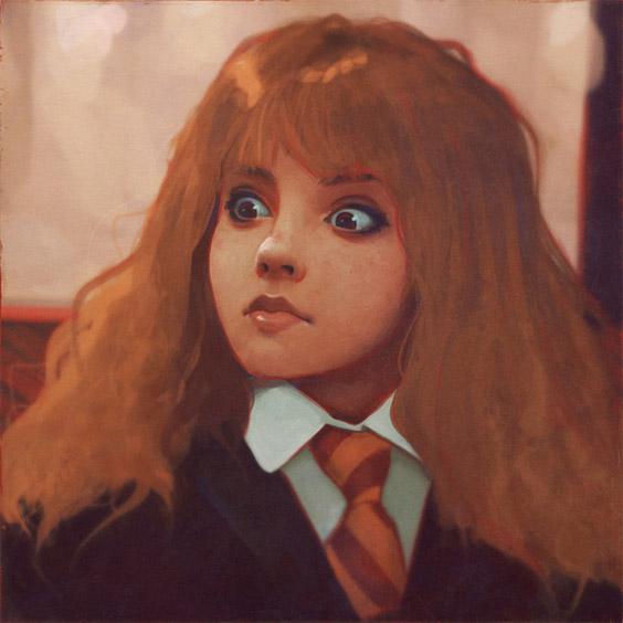 Невероятные и замечательные арты к Гарри Поттеру - подборка 22