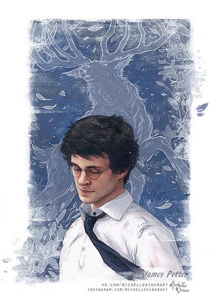 Невероятные и замечательные арты к Гарри Поттеру - подборка 6