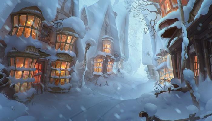 Невероятные и замечательные арты к Гарри Поттеру - подборка 7
