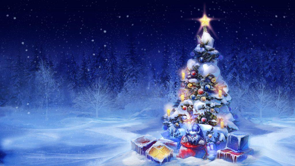 Новый год, подборка очень красивых и необычных картинок в стиле арт 4
