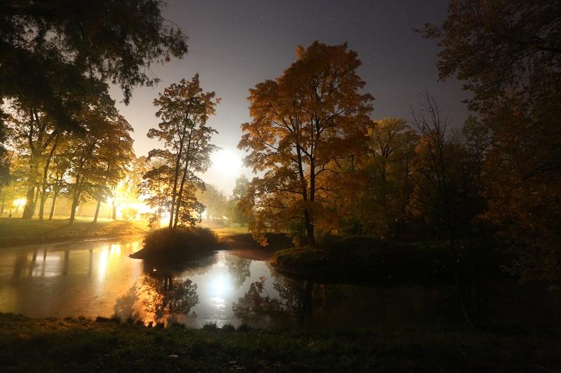 Осенняя ночь картинки и фотографии - очень красивые 11