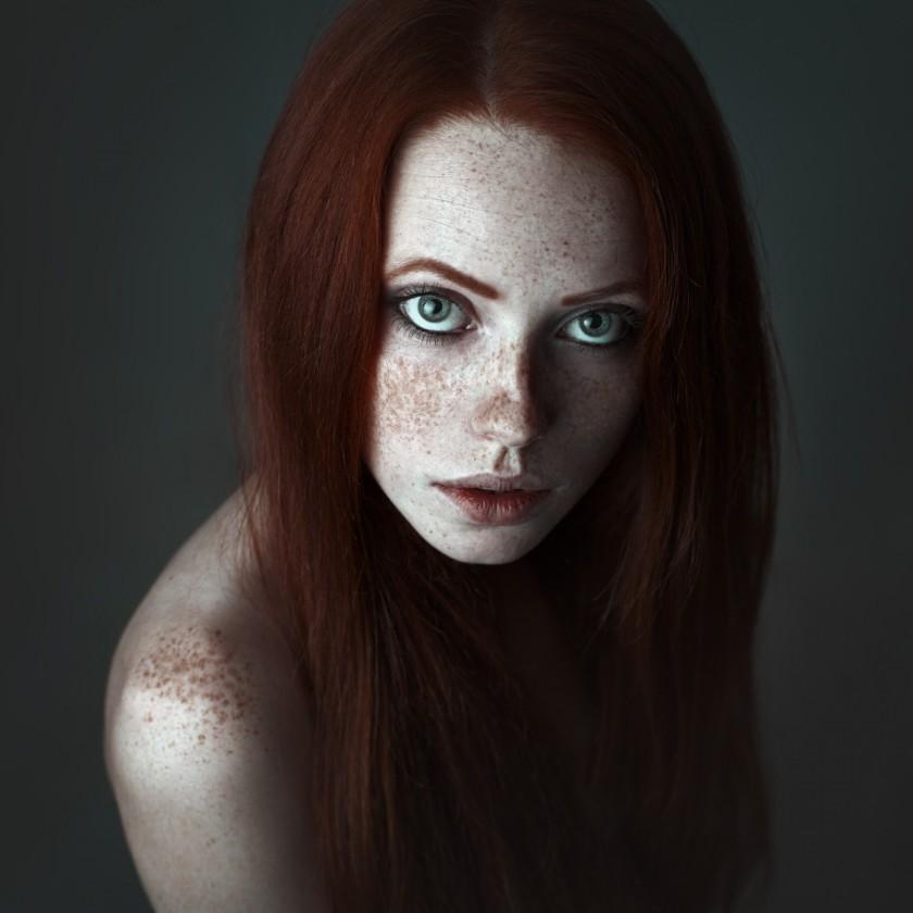 Портреты красивых девушек - удивительные фотографии №38 7