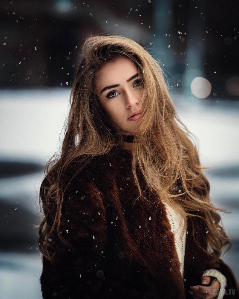 Портреты красивых девушек - удивительные фотографии №38 8