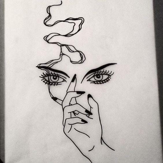 Прикольные картинки для срисовки для девочек 16 лет - сборка 2