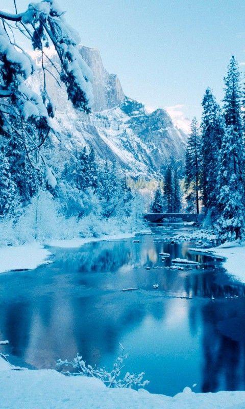 Удивительные картинки на заставку телефона Зима - подборка 16