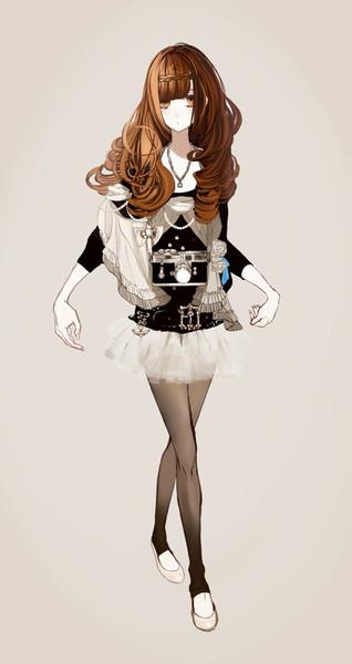Аниме девушки в полный рост - красивые картинки, арт 40 фото 38