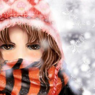 Девушка-зима - удивительные арт картинки, фото, подборка 13