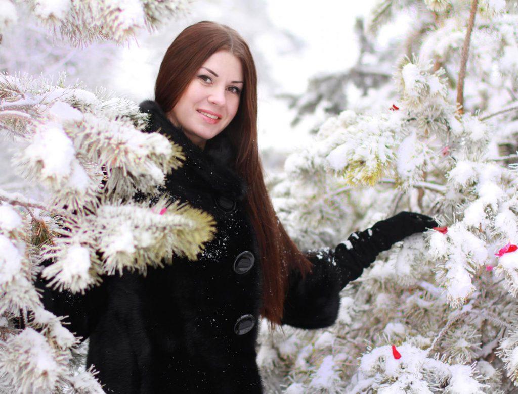 Девушка-зима - удивительные арт картинки, фото, подборка 21
