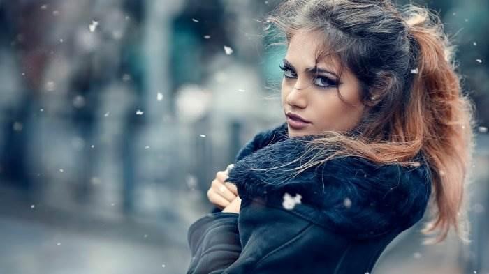 Девушка-зима - удивительные арт картинки, фото, подборка 23