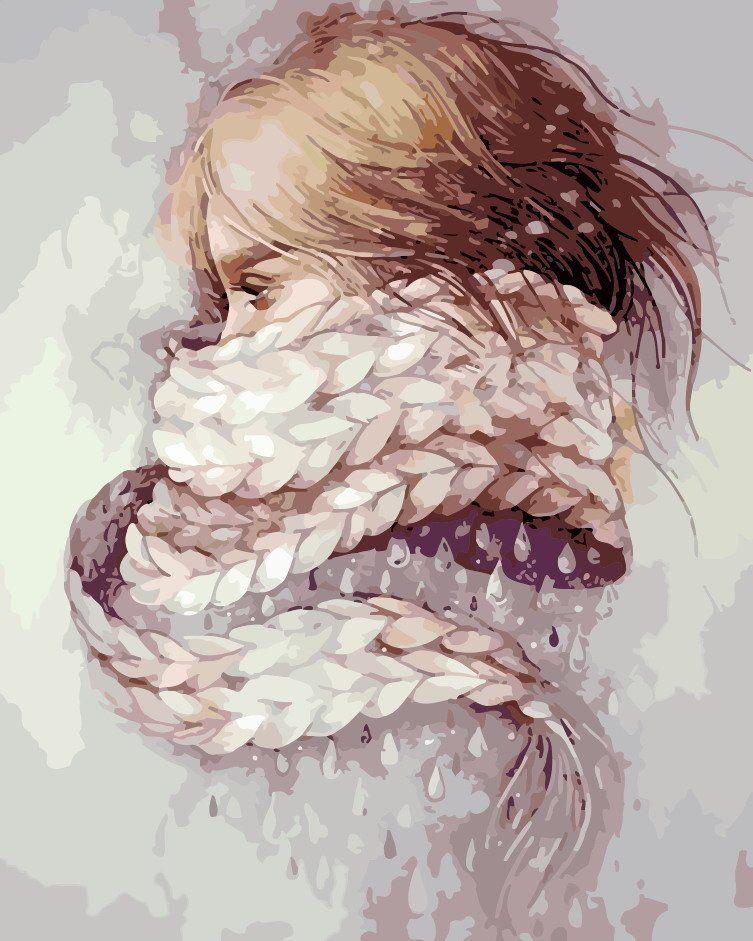 Девушка-зима - удивительные арт картинки, фото, подборка 4