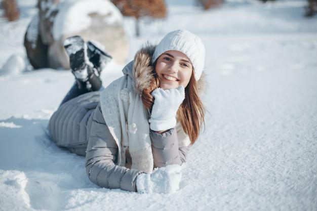 Девушка-зима - удивительные арт картинки, фото, подборка 6
