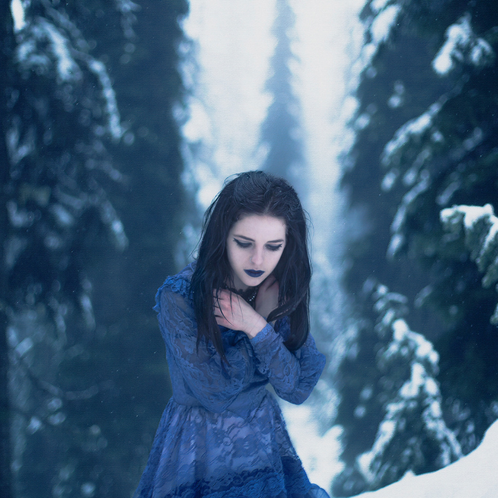 Девушка-зима - удивительные арт картинки, фото, подборка 7