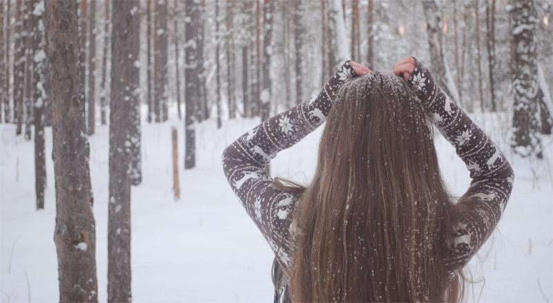 Девушка-зима - удивительные арт картинки, фото, подборка 8