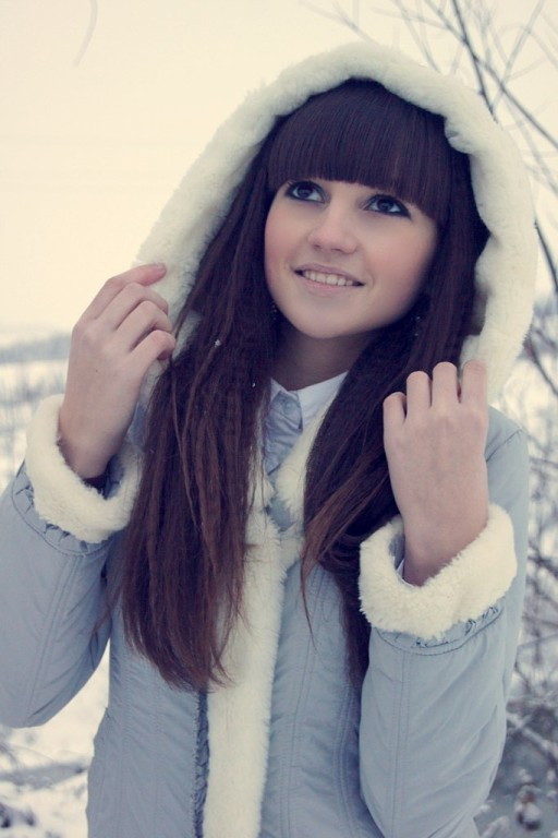 Девушка-зима - удивительные арт картинки, фото, подборка 9