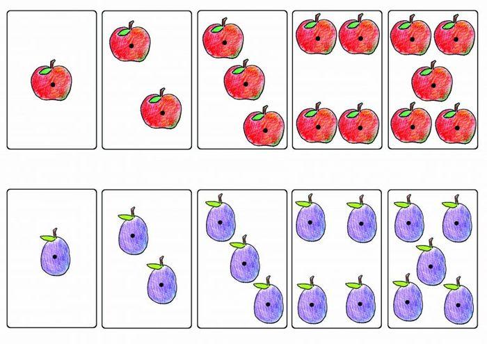 Задачи в картинках для 1 класса по математике в пределах 10 - подборка 7