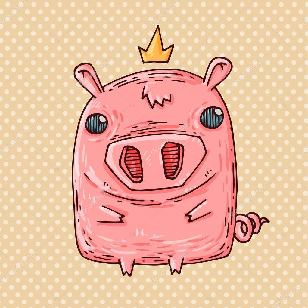 Интересные и прикольные картинки, фото свиньи на Новый год 2019 14