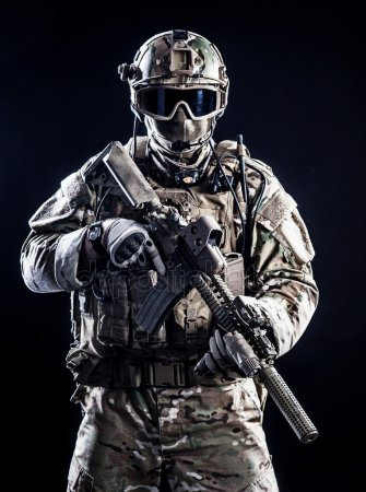 Армия спецназ обои для рабочего стола, картинки оружия