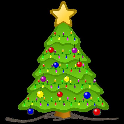 Красивые и интересные картинки новогодней елочки для детей 12