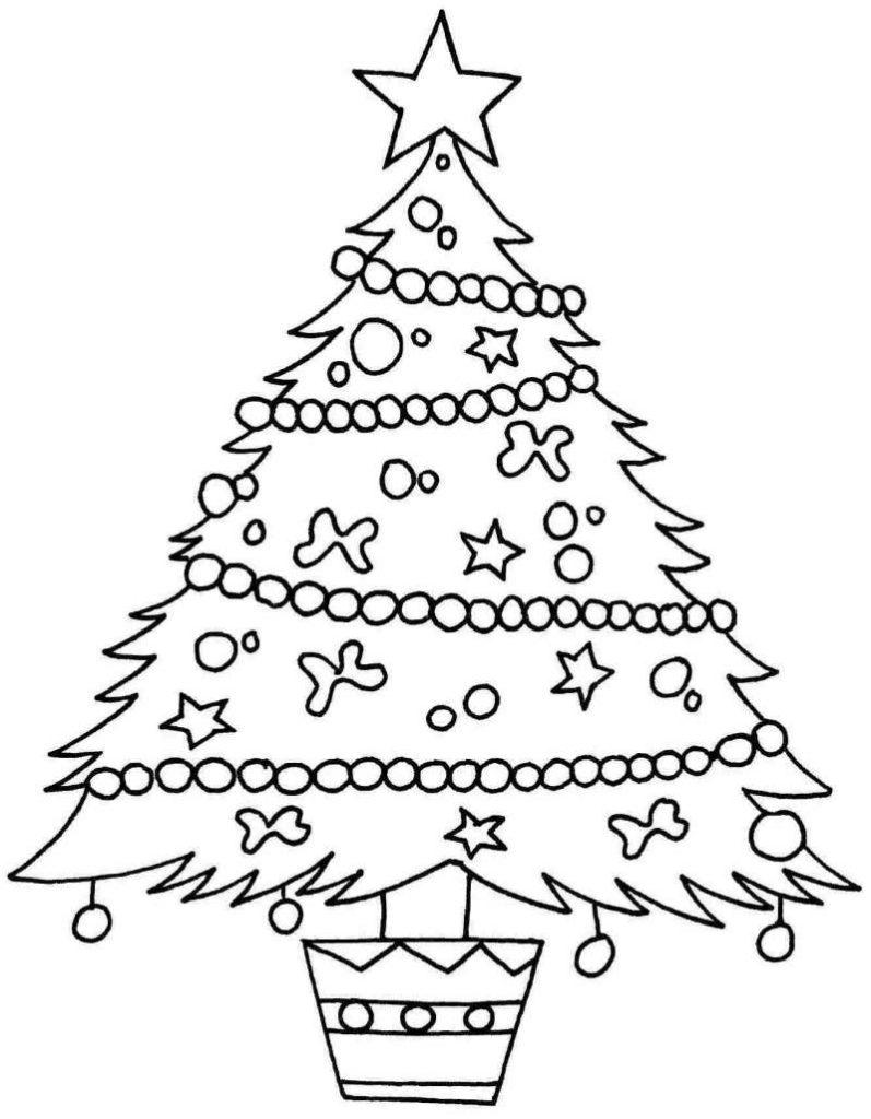 Красивые и интересные картинки новогодней елочки для детей 13