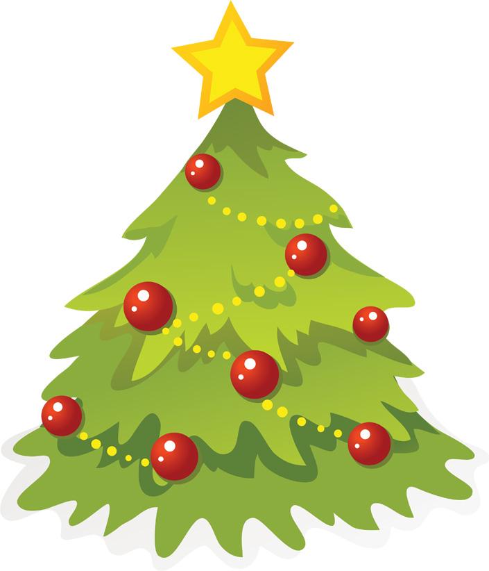 Красивые и интересные картинки новогодней елочки для детей 14