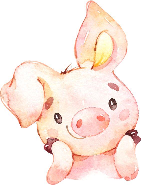 Красивые и прикольные картинки на тему Новогодняя свинья - сборка 11
