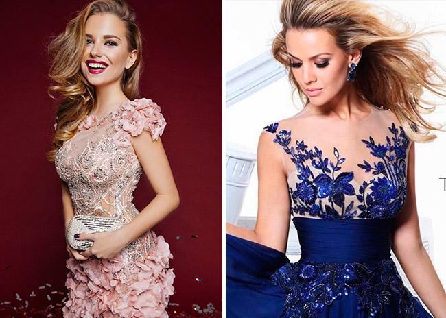 Красивые и удивительные фотографии платьев на Новый год 2019 17