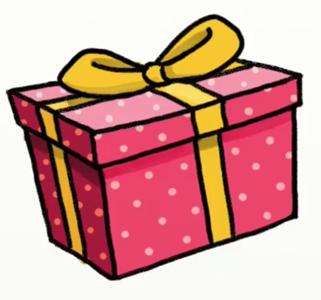 Красивые картинки и рисунки подарков или подарка для срисовки 11