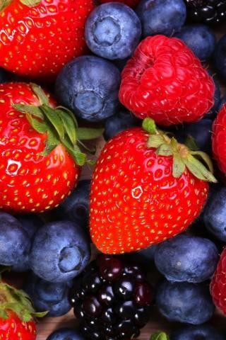 Красивые картинки фруктов для заставки телефона - подборка 1