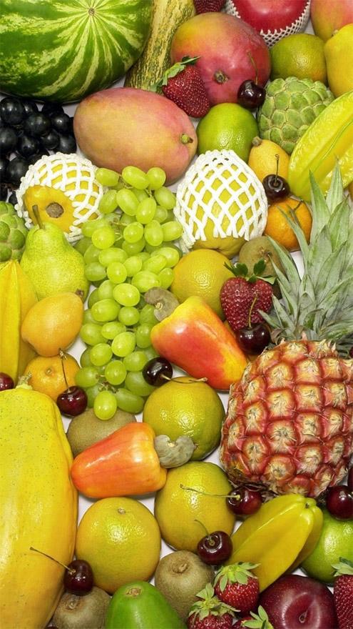 Красивые картинки фруктов для заставки телефона - подборка 14