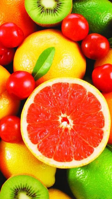 Красивые картинки фруктов для заставки телефона - подборка 17