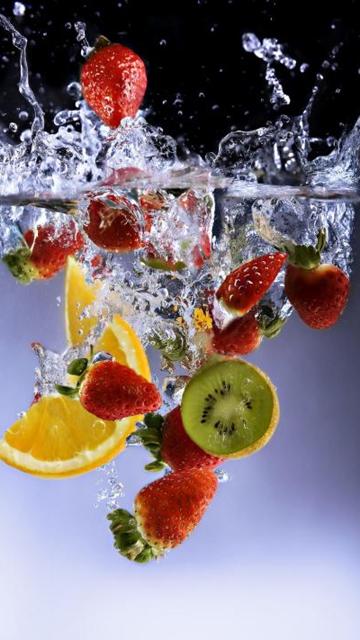 Красивые картинки фруктов для заставки телефона - подборка 8