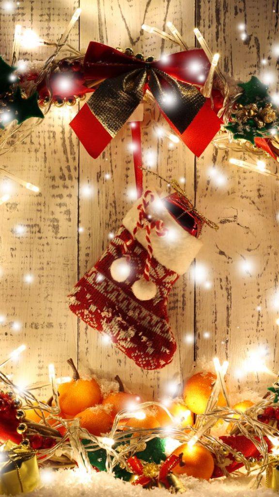 Красивые новогодние и рождественские картинки на телефон 10