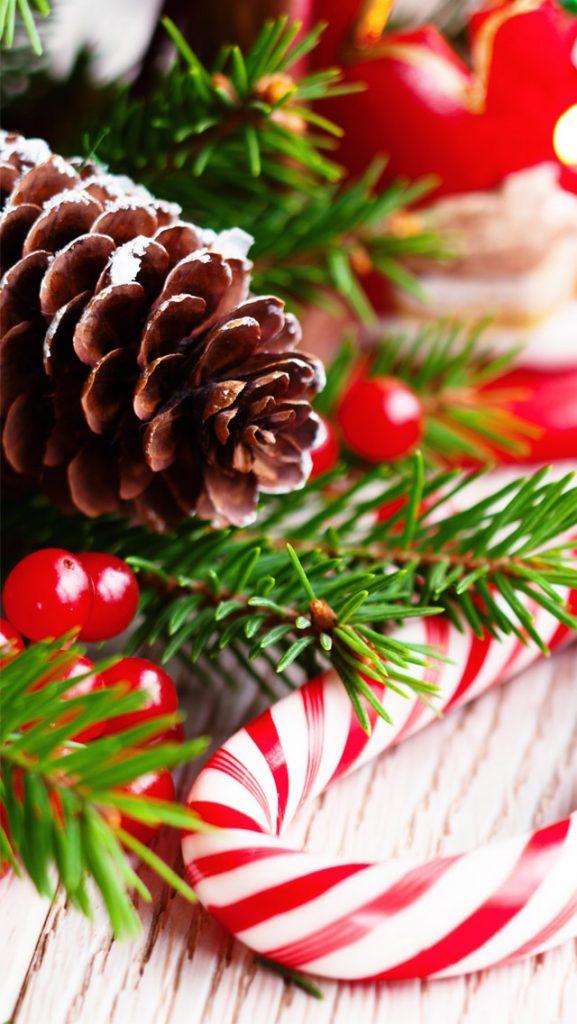 Красивые новогодние и рождественские картинки на телефон 12