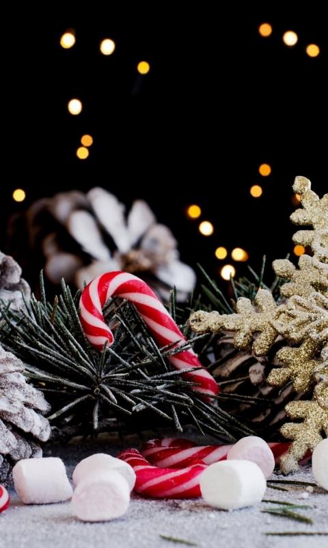 Красивые новогодние и рождественские картинки на телефон 13