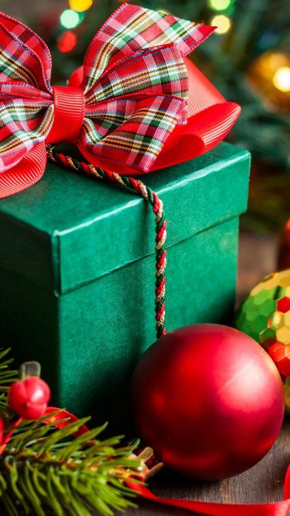 Красивые новогодние и рождественские картинки на телефон 16