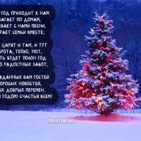 Красивые стихи поздравления с Новым годом 2019 - приятная сборка 1