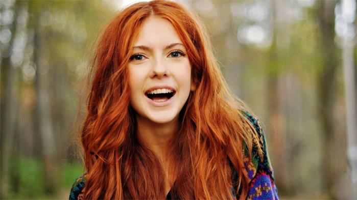 Красивые фото, картинки девушек с рыжими волосами - подборка 11