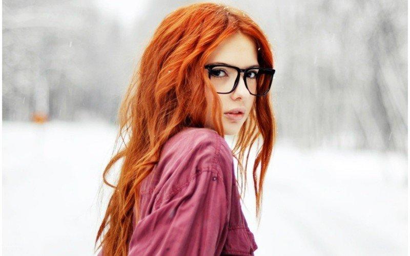 Красивые фото, картинки девушек с рыжими волосами - подборка 17