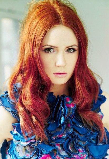 Красивые фото, картинки девушек с рыжими волосами - подборка 21