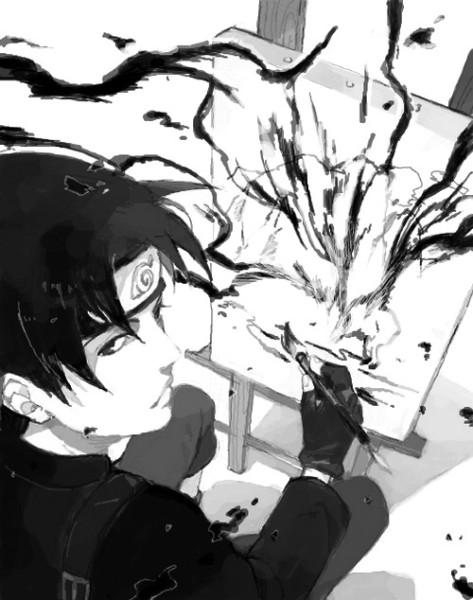Крутые и классные картинки, арты Сай из Наруто аниме - подборка 13