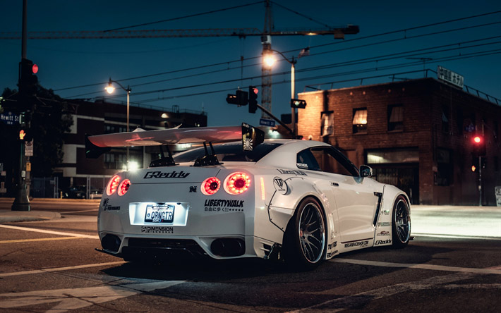 Невероятные и красивые обои, картинки - Nissan GT-R 1