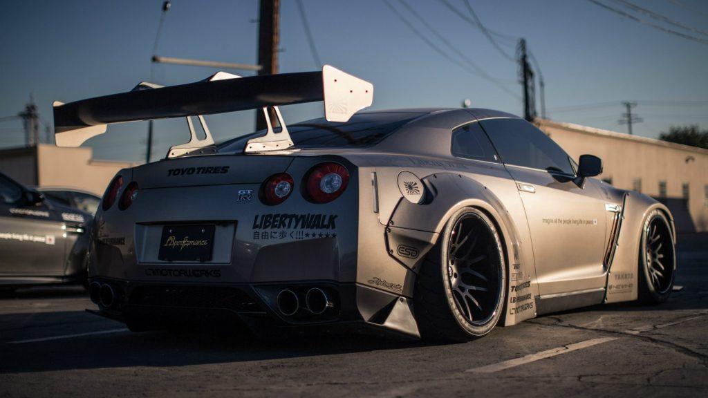 Невероятные и красивые обои, картинки - Nissan GT-R 14