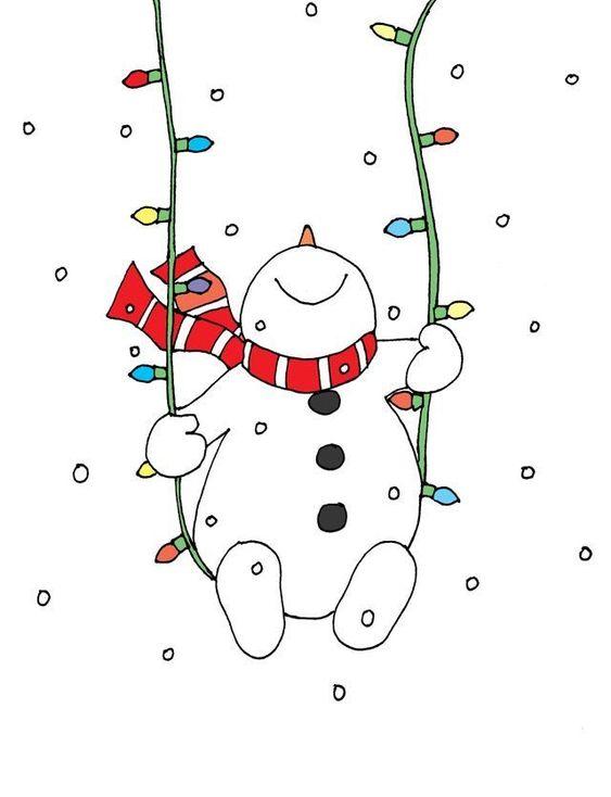Новый год и Рождество - красивые и интересные векторные картинки 1