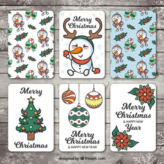 Новый год и Рождество - красивые и интересные векторные картинки 10