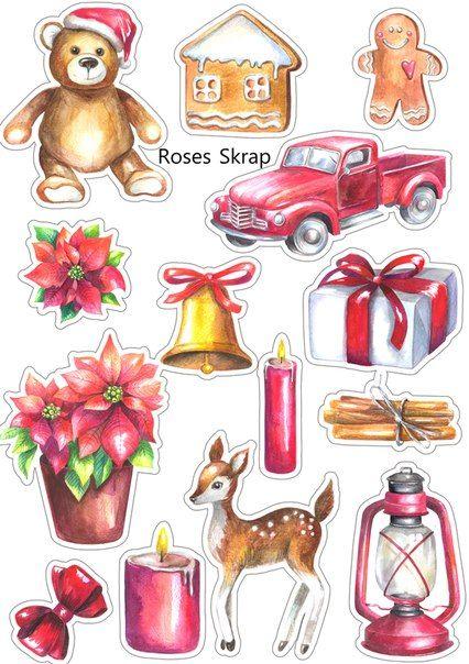 Новый год и Рождество - красивые и интересные векторные картинки 14