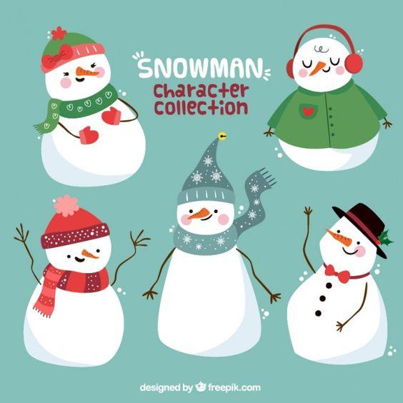 Новый год и Рождество - красивые и интересные векторные картинки 24
