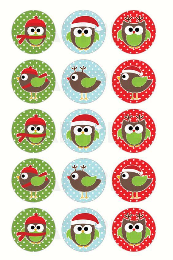 Новый год и Рождество - красивые и интересные векторные картинки 5