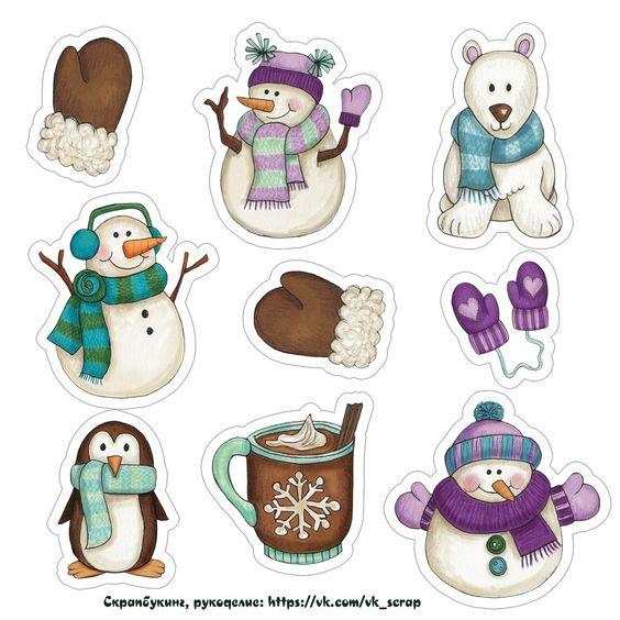 Новый год и Рождество - красивые и интересные векторные картинки 6