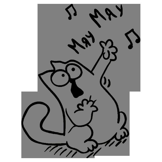 Прикольные и классные рисунки, картинки Саймон Кот - подборка 3